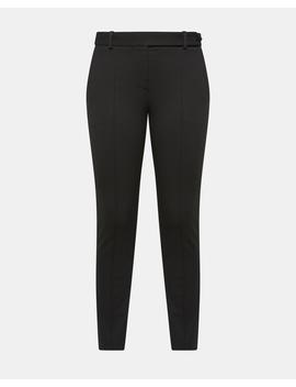 Knit Twill Pintuck Pant by Theory