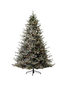 D23 7.5ft Pre Lit Clarence Frosted Christmas Tree by At Home