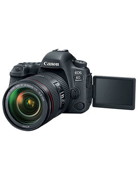 Canon Eos 6 D Mark Ii Dslr Camera With 24 105mm Is Usm Lens Kit by Best Buy
