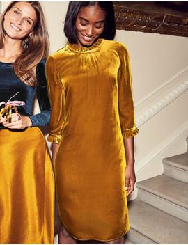 Adora Velvet Dress by Boden
