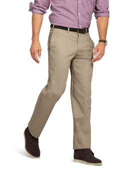 Men's Traditional Fit Plain No Iron Chino Pants by Lands' End