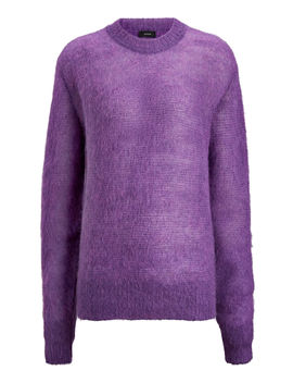 Sweater Brushed Mohair Knit by Joseph