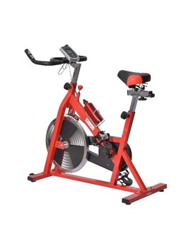 Soozier Exercise Bicycle Cardio With Water Bottle Red by Best Buy