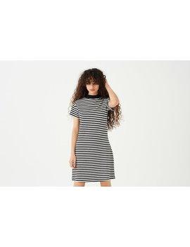 Lo Stripe Sports Dress by Lazy Oaf
