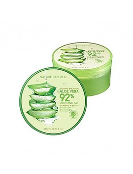 [Nature Republic] Aloe Vera Soothing Gel, 92% Soothing And Moisture, 300ml by Style Korean