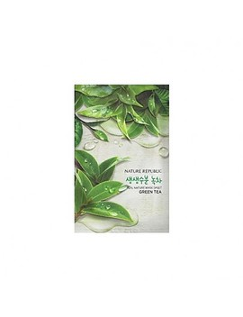 [Nature Republic] Real Nature Mask Sheet/ Green Tea 23ml by Style Korean