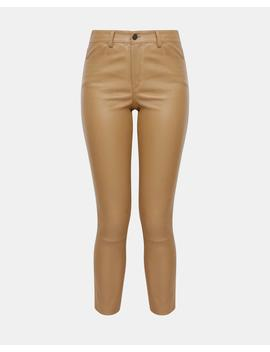 Five Pocket Leather Pant by Theory