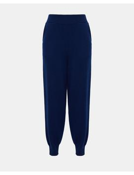 Wool Cashmere Relaxed Track Pant by Theory