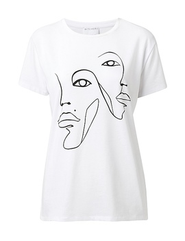 Line Art Tee by Witchery