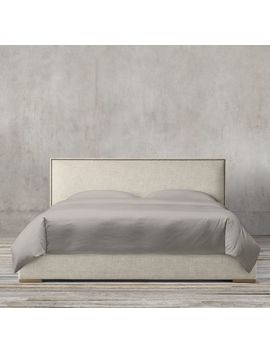 Lawson Panel Nontufted Fabric Bed With Nailheads by Restoration Hardware
