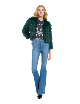 Fawn Fur Jacket by Alice And Olivia