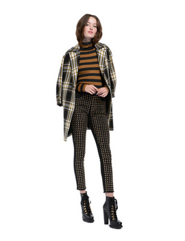Lance Plaid Oversized Coat by Alice And Olivia