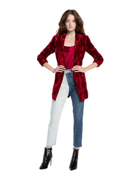 Kylie Easy Shawl Collar Blazer by Alice And Olivia