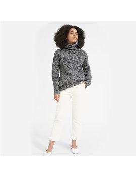 The Italian Soft Wool Rib Turtleneck by Everlane