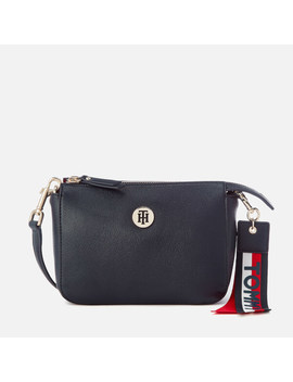 Tommy Hilfiger Women's Charming Cross Body Bag   Navy by The Hut