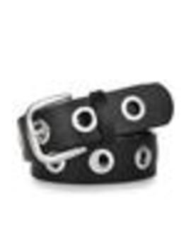 Vegan Leather Grommet Belt by Tunnel Vision
