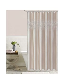 Blush Crystal Stardust Shower Curtain 72 In by At Home