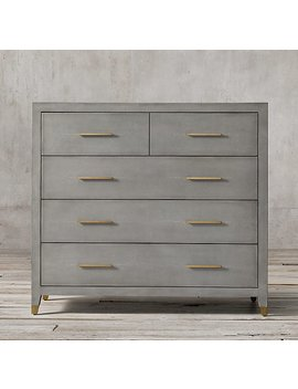 Graydon Shagreen 5 Drawer Dresser by Restoration Hardware