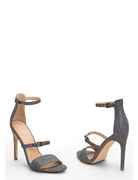 Buckle Detail Strappy Heel by Venus