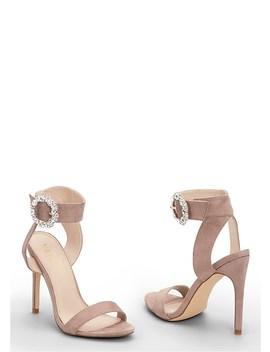 Embellished Buckle Heel by Venus