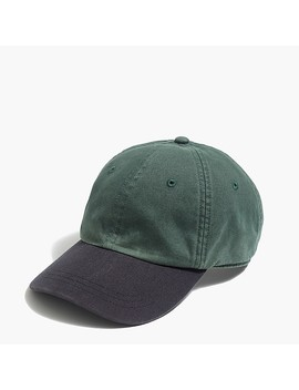 Colorblock Baseball Cap by J.Crew