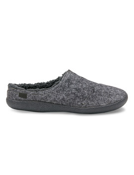Grey Slub Textile Men's Berkeley Slippers by Toms