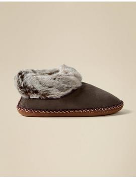 Maya Slipper Boots by Fat Face
