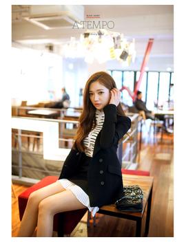 Slim Fit Suit Blazer by Chuu
