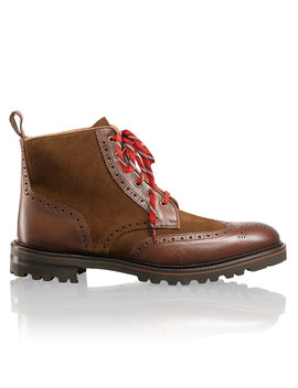 Lace Up Brogue by Scotney