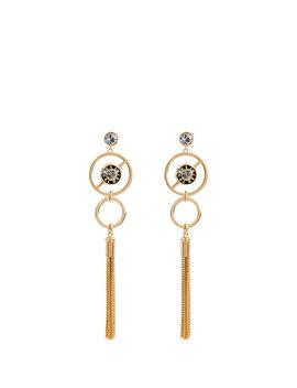 Miss Bendel Fringe Linear Earring by Henri Bendel