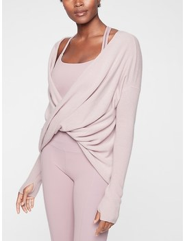 Finale Wool Cashmere Convertible Sweater by Athleta
