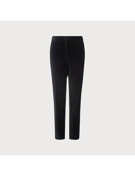 Roxane Black Velvet Pants by L.K.Bennett