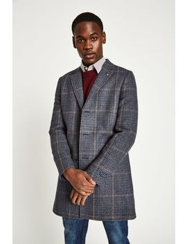 Croften Wool Overcoat by Jack Wills