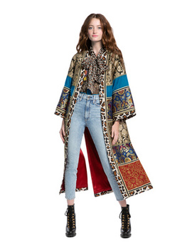 Lynn Patchwork Kimono by Alice And Olivia