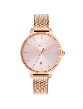 Ted Baker Kate Rose Gold Ion Plated Ladies Watch by Beaverbrooks