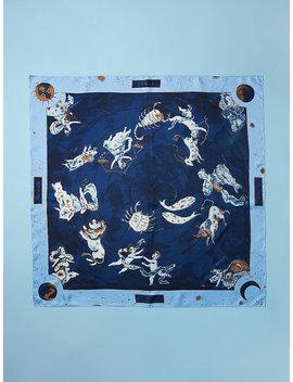 Zodiac Silk Scarf by Dvf