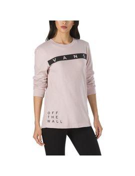Face Off Long Sleeve Boyfriend T Shirt by Vans