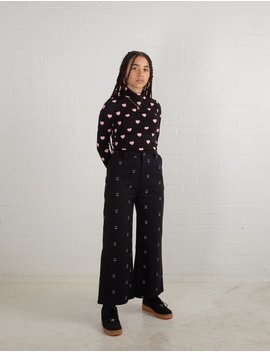 Lazy Oaf Happy Sad Work Pants by Lazy Oaf