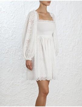 Castile Shirred Flare Dress by Zimmermann