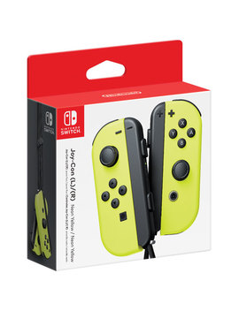 Nintendo Switch Left And Right Joy Con Controllers   Neon Yellow by Best Buy