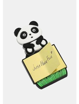 Panda Magnetic Notepad by Miss A