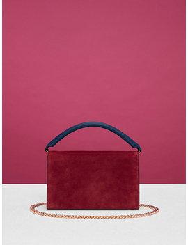 Bonne Soirée Suede Bag by Dvf