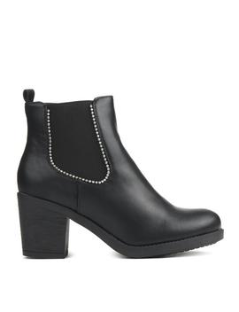 Agent Studded Chelsea Boots by Koi Footwear
