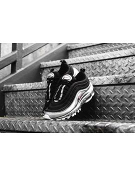Nike Air Max 97 Qs   Silver & Black by Politics