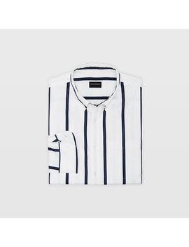 Slim Stripe Shirt by Club Monaco