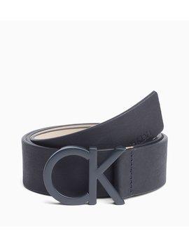 Ck Leather Belt by Calvin Klein
