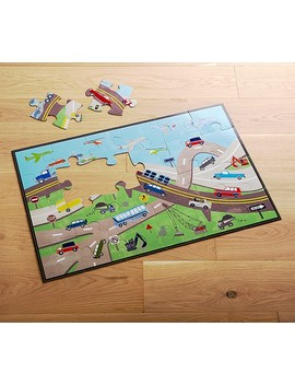 Transportation Floor Puzzle by Pottery Barn Kids