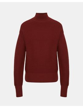 Wool Ribbed Turtleneck by Theory