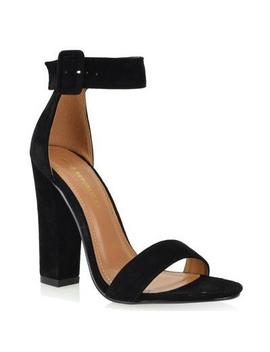 Chris Heel (Black) by Laura's Boutique