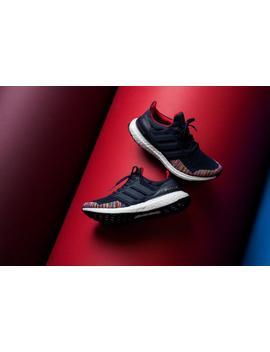 Adidas Ultraboost Ltd   Collegiate Navy/Vivid Red by Politics
